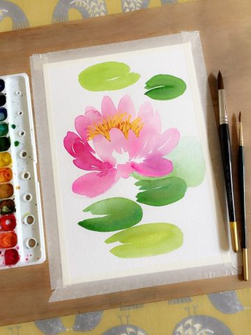 Learn how to paint a new flower every day with the help of the acclaimed watercolor ar...