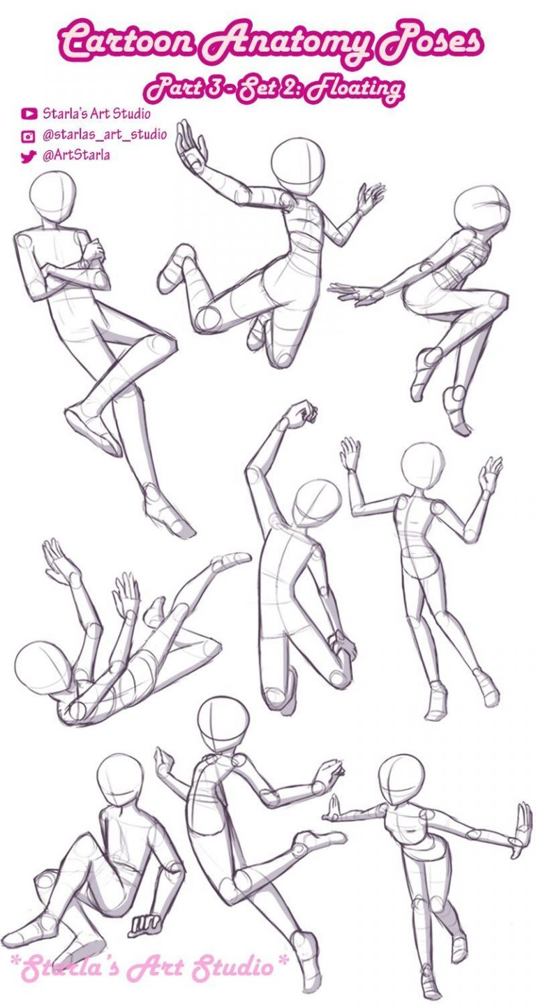 Architecture #floating #poses #reference floating-poses of reference, a model of pose r...