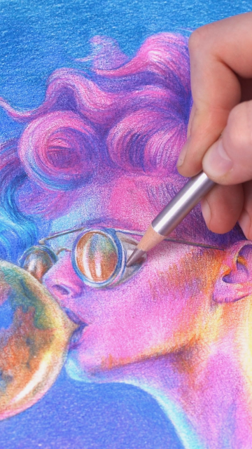 ⚡Get inspired with Amazing 📌Colored Pencils!📌⚡