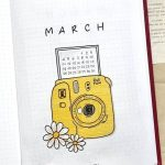 March DRAWING #bulletjournalidéespages you are starting a new month in the bullet...