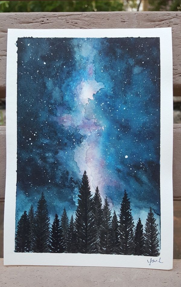 This painting uses different painting techniques, simple and complex.The...