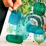 Watercolor abstract by @studioartbite Abstract Art Abstract Abstract Art Paintin...