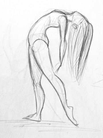 Yenthe Joline Art • Some sketches of a dancer. For some of the people that I have ...